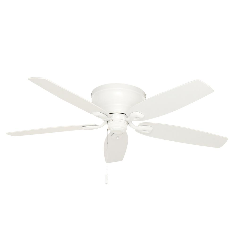 Durant 54 in. Indoor Snow White Ceiling Fan