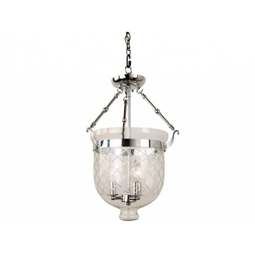 Filament Design Xavier 3-Light Chrome Pendant