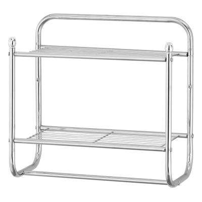 Wayar 17.91 in. W Wall Mounted Rack in Silver