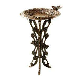 Oakland Living Butterfly and Dragonfly Birdbath by Oakland Living
