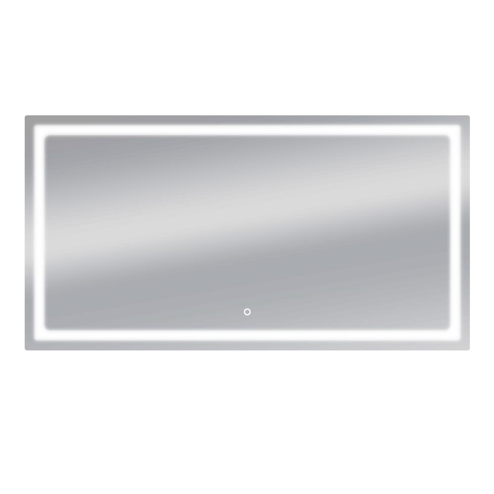 Dyconn Swan 72 in. W x 38 in. H LED Wall Mounted Backlit Vanity ...