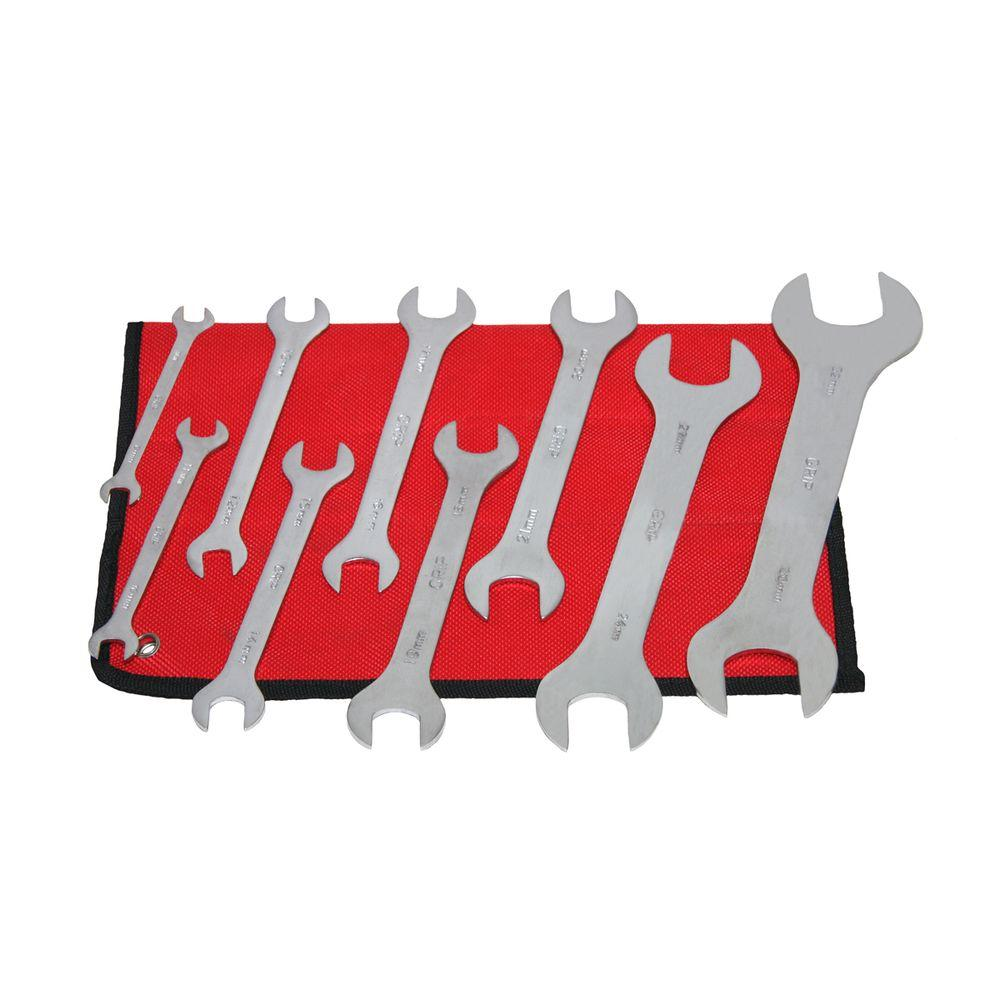 Metric Super Thin Wrench Set (9-Piece)