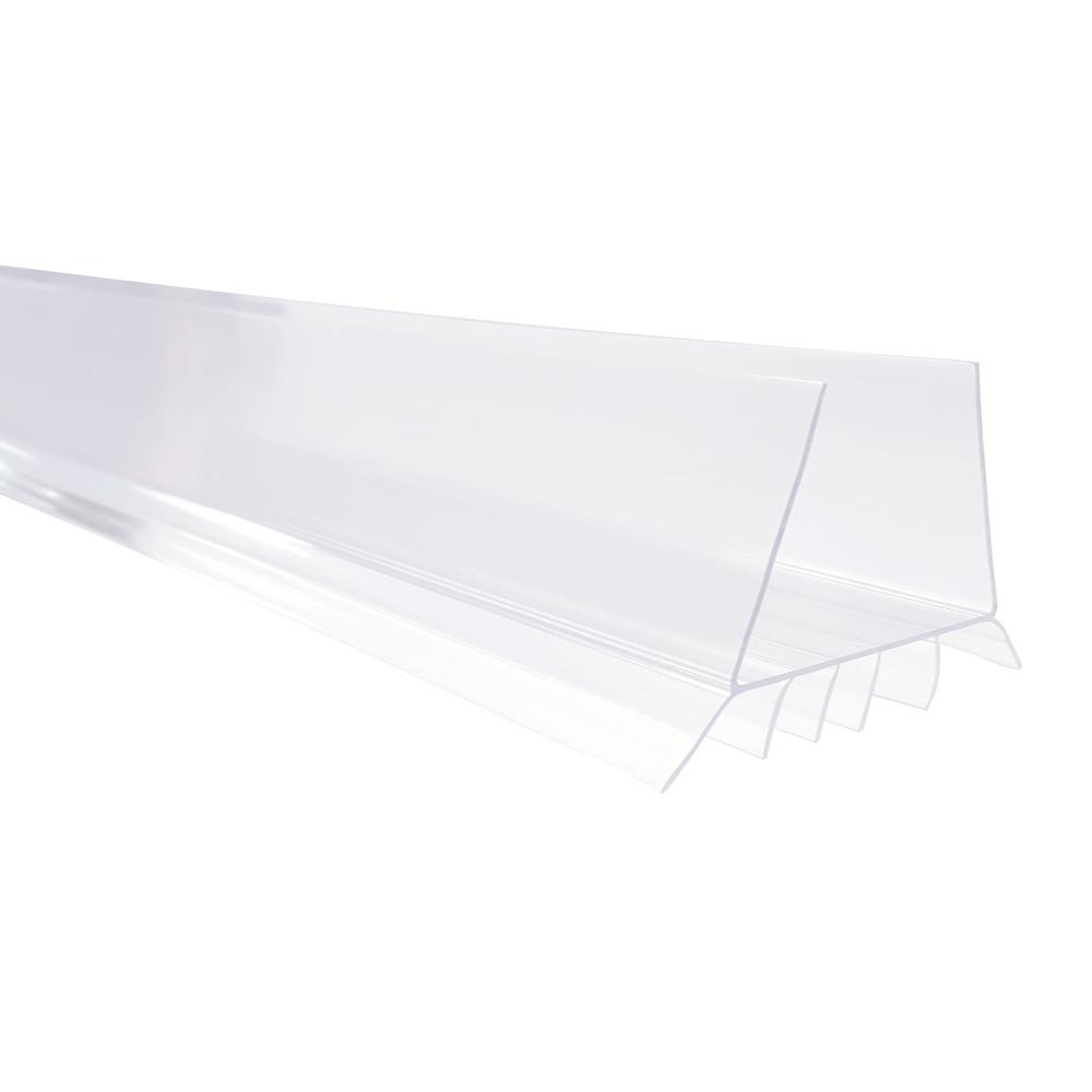 1-3/4 in. x 36 in. Clear EZ-On Door Bottom