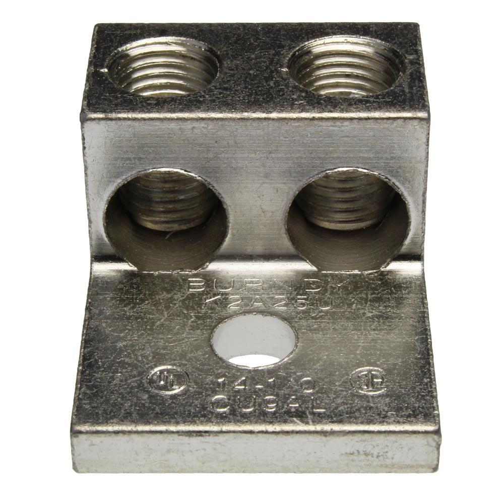 1/0 AWG Single Hole Wire Lug (5-Pack of 2)