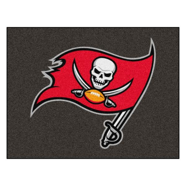 Fanmats Nfl Tampa Bay Buccaneers Rug 34 In X 42 5 In 28820 The Home Depot