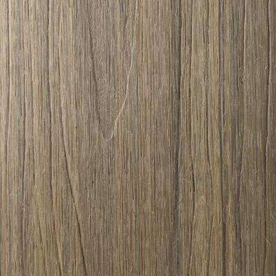 UltraShield Naturale Cortes Series 1 in. x 6 in. x 1 ft. Roman Antique Solid Composite Decking Board Sample