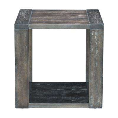 Skyline Gray End Table