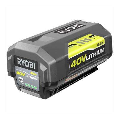 40-Volt Lithium-Ion 4 Ah High Capacity Battery