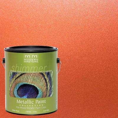 1 gal. Burnt Orange Metallic Interior/Exterior Paint