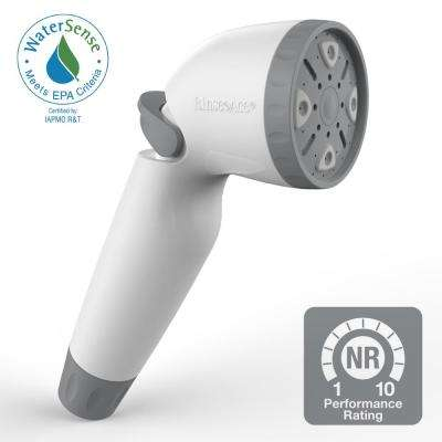 Snap N Spray WaterSense 1.8 Detachable Showerhead in White