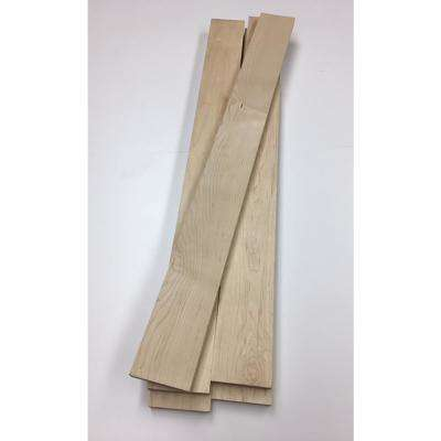 0.75 in. x 3.5 in. x 4 ft. Maple S4S Board (5-Pack)