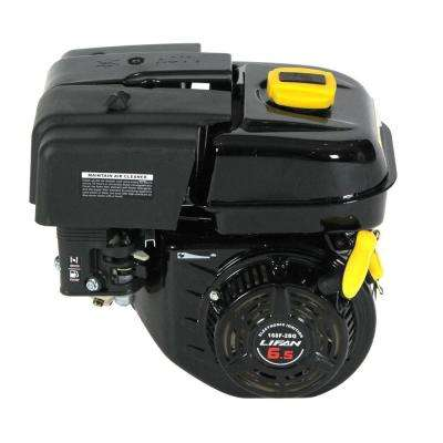 6.5 HP OHV Recoil Start 6:1 Gear Reduction Horizontal Shaft Gas Engine