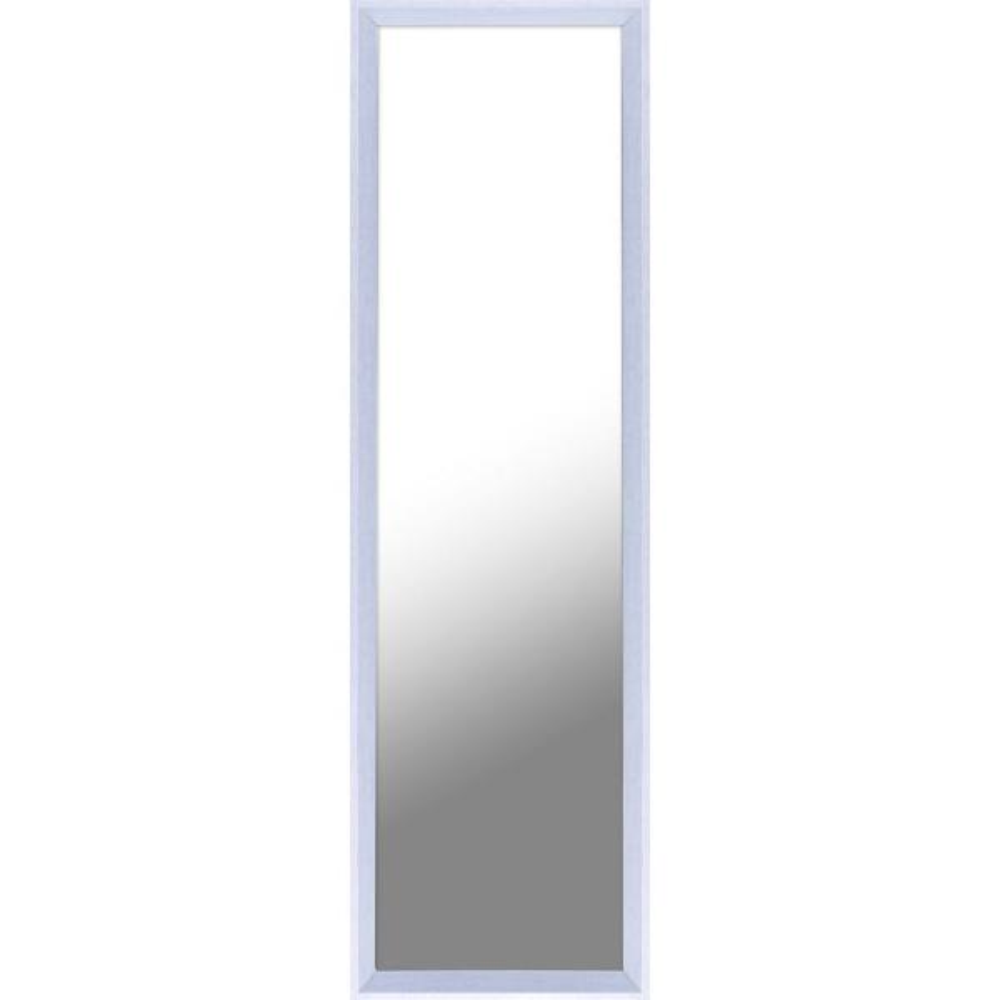 Beau Plastic White Door Mirror