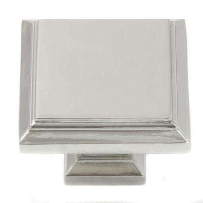 Beacon Hill 1-3/4 in. Polished Nickel Cabinet Knob
