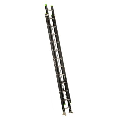 24 ft. Lightweight Fiberglass Extension Ladder (23 ft. Reach) 300 lbs. Load Capacity, Type IA Duty Rating