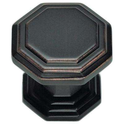 Dickinson 1 1/4 In. Venetian Bronze Octagon Knob
