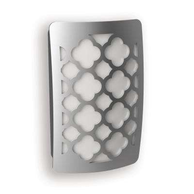Satin Nickel Tangier Decoplug LED Night Light
