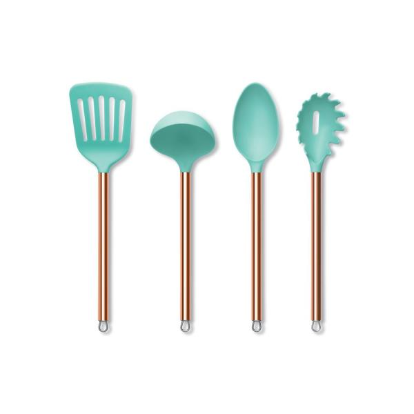 SOUTHERN LIVING nylon /& silicone kitchen utensils stainless handle tips U CHOOSE