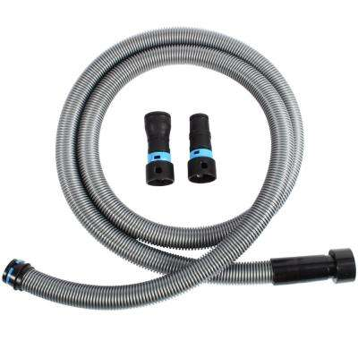 10 ft. Hose with Dust Collection Power Tool Adapters for Wet/Dry Vacuums