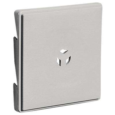 6.625 in. x 6.625 in. #030 Paintable Triple 3 Surface Mounting Block