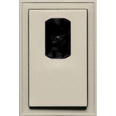 8.125 in. x 12 in. #089 Champagne Jumbo Electrical Mounting Block Offset