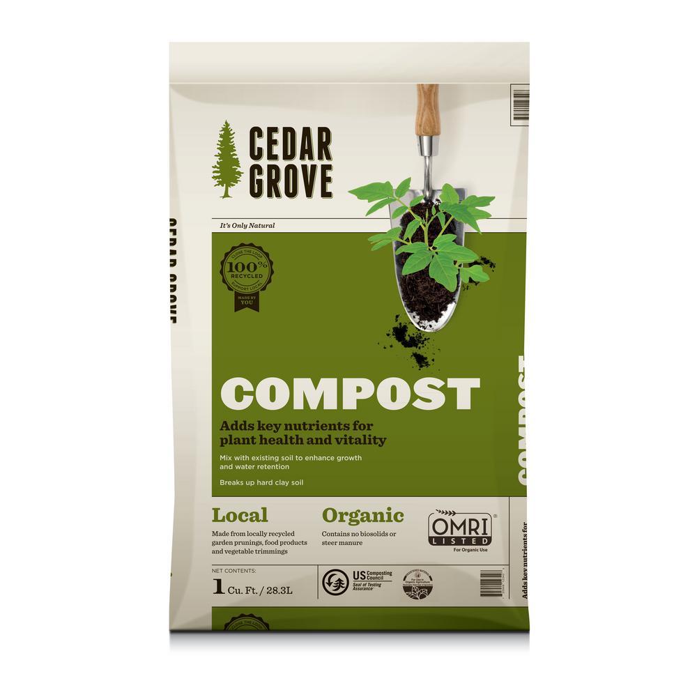 1 cu. ft. Cedar Grove Compost