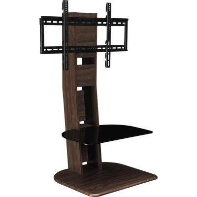 Park Walnut 50 in. TV Stand with Mount