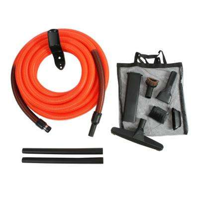Garage Attachment Kit with 30 ft. Hose for Central Vacuums