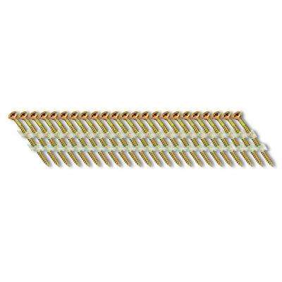 2-1/4 in. x 1/9 in. 33-Degree Plastic Strip Square Head Nail Screw Fastener (1,000-Pack)