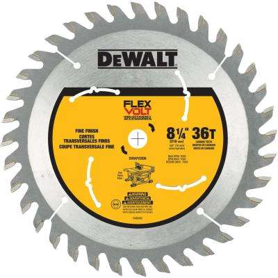FLEXVOLT 8-1/4 in. 36-Teeth Carbide-Tipped Table Saw Blade