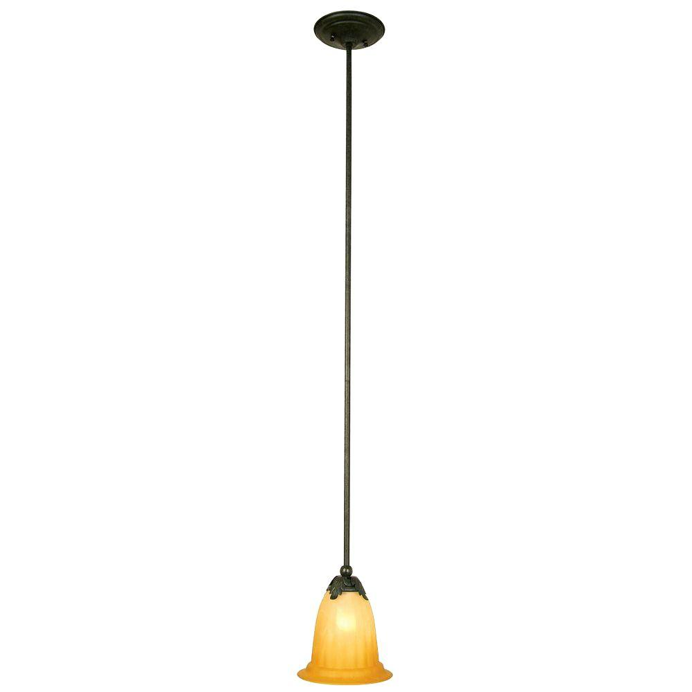 Yosemite Home Decor El Capitan Lighting Collection 1-Light Hanging Mini Pendant-DISCONTINUED