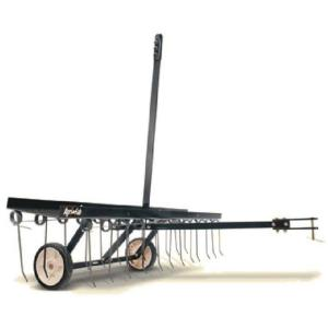 Click here to buy Agri-Fab 48 inch Tow Lawn Dethatcher by Agri-Fab.