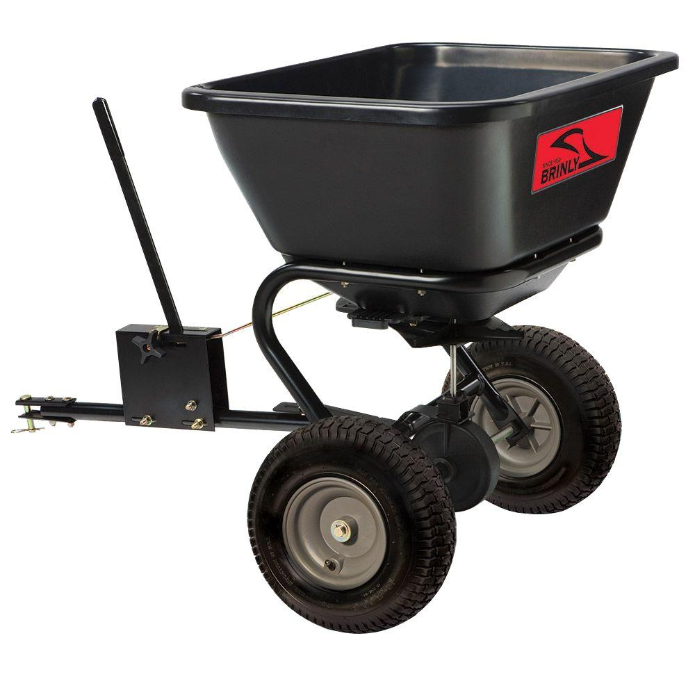 Brinly-Hardy 125 lb. Tow-Behind Broadcast Spreader