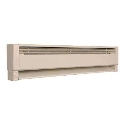 28 in. 500-Watt Electric Hydronic Baseboard Heater