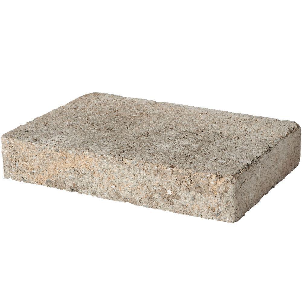 Fieldstone 2 in. x 12 in. x 8 in. Charcoal/Buff Blend Concrete Wall Cap (120 Pieces / 118.5 Linear ft. / Pallet)