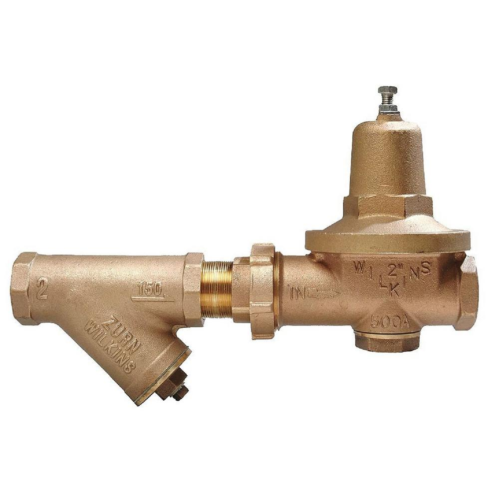 2-1/2 in. Lead-Free FNPT Union Pressure Reducing Valve