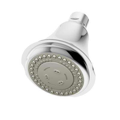 Carrington 3-Spray 4 in. Shower Head in Chrome