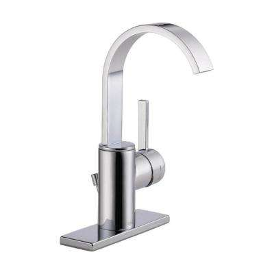 Mandolin 4 in. Centerset Single-Handle Bathroom Faucet in Chrome