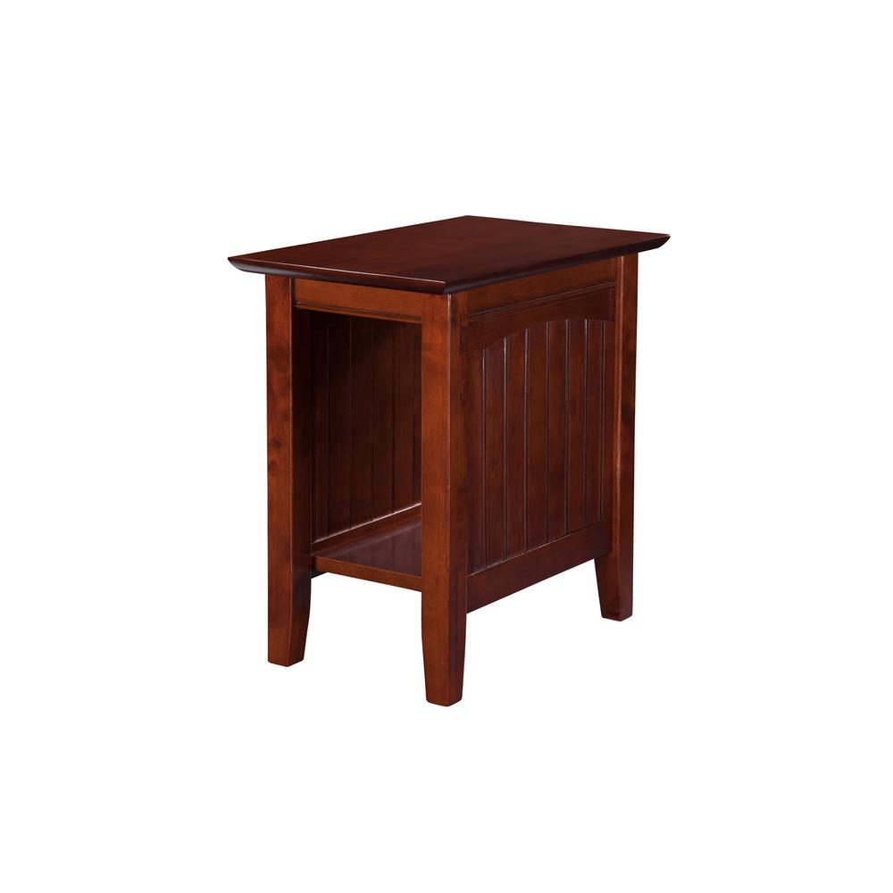 Nantucket Walnut Chair Side Table