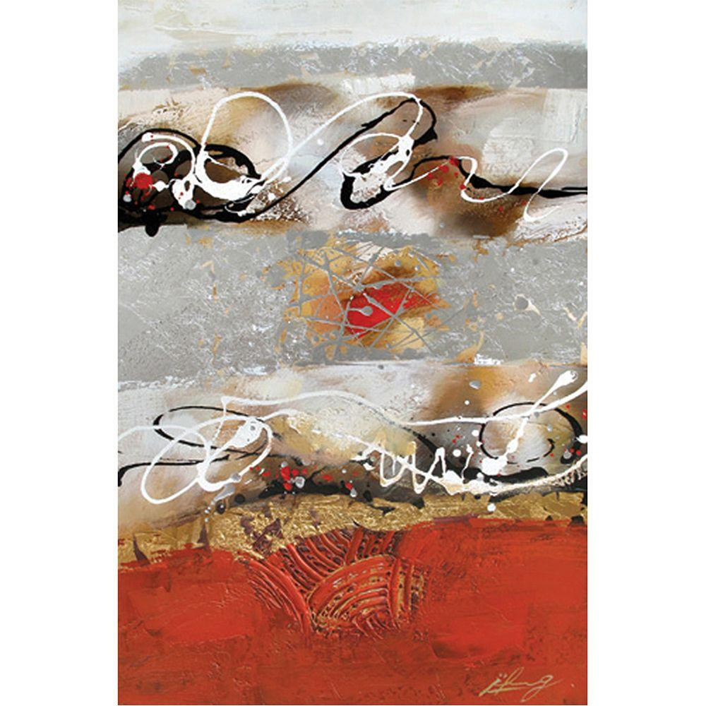 Yosemite Home Decor 24 in. x 35 in. Melange I Hand Painted Contemporary Artwork-DISCONTINUED