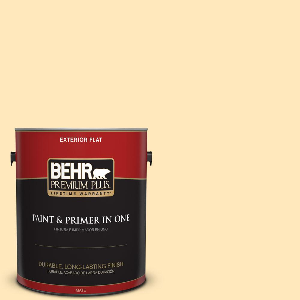 1-gal. #P270-2 September Morning Flat Exterior Paint