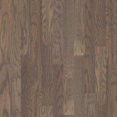 Take Home Sample - Woodale Oak Weathered Click Hardwood Flooring - 5 in. x 8 in.