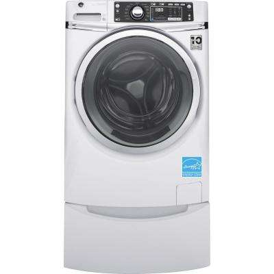 4.9 cu. ft. Capacity Front Load Washer with Steam in White, Energy Star