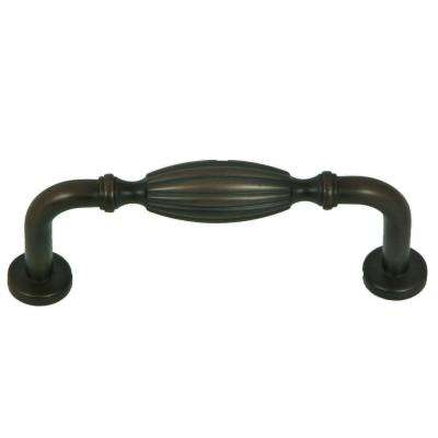 French Country 3 in. Center-to-Center Oil Rubbed Bronze Cabinet Pull (10-Pack)