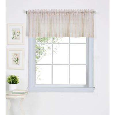 lined pdp curtain plaid ellis cotton scallop morrison valance treatments window