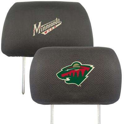 NHL - Minnesota Wild Mesh 13 in. x 10 in. Head Rest Cover