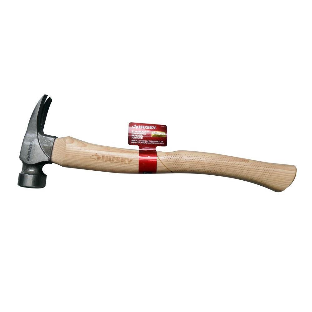Husky 22 oz. California Hickory Hammer