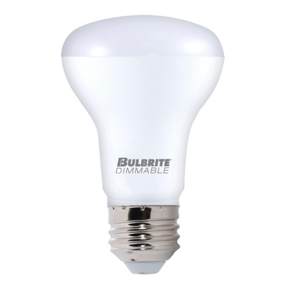 Bulbrite 40w Equivalent Warm White Light A19 Dimmable Led: Bulbrite 50W Equivalent Warm White Light R20 Dimmable LED