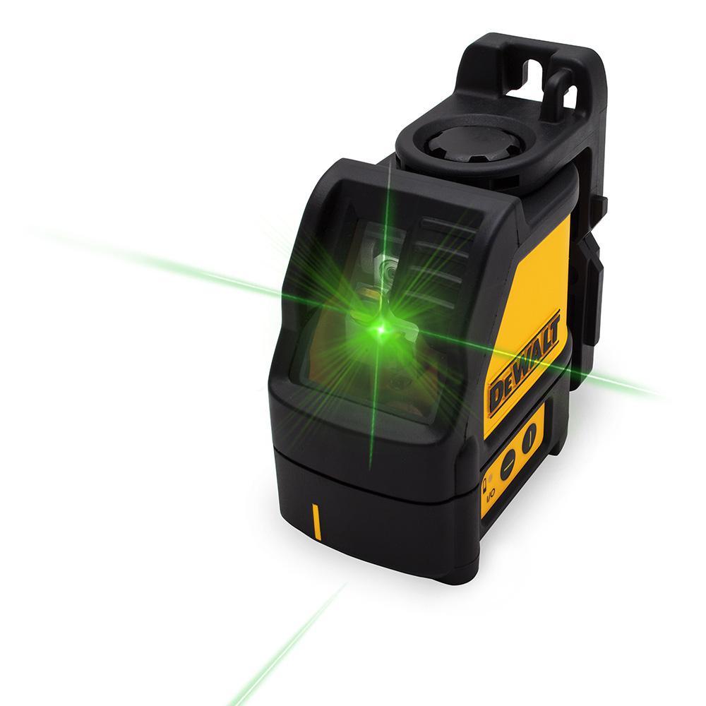 Dewalt Cross Line Green Laser Level Dw088cg The Home Depot