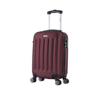 Philadelphia lightweight hardside spinner 19 in. carry-on-Wine
